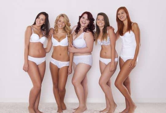 5 types de morphologie de femme